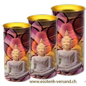 kerze buddha meditationskerzen shop esoterik. Black Bedroom Furniture Sets. Home Design Ideas